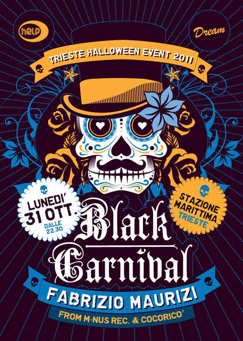 black carnival zerouno design