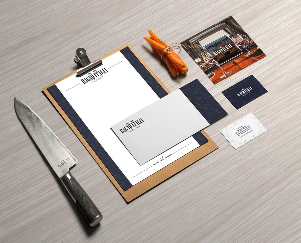 Bagno italia brochure design zerouno design