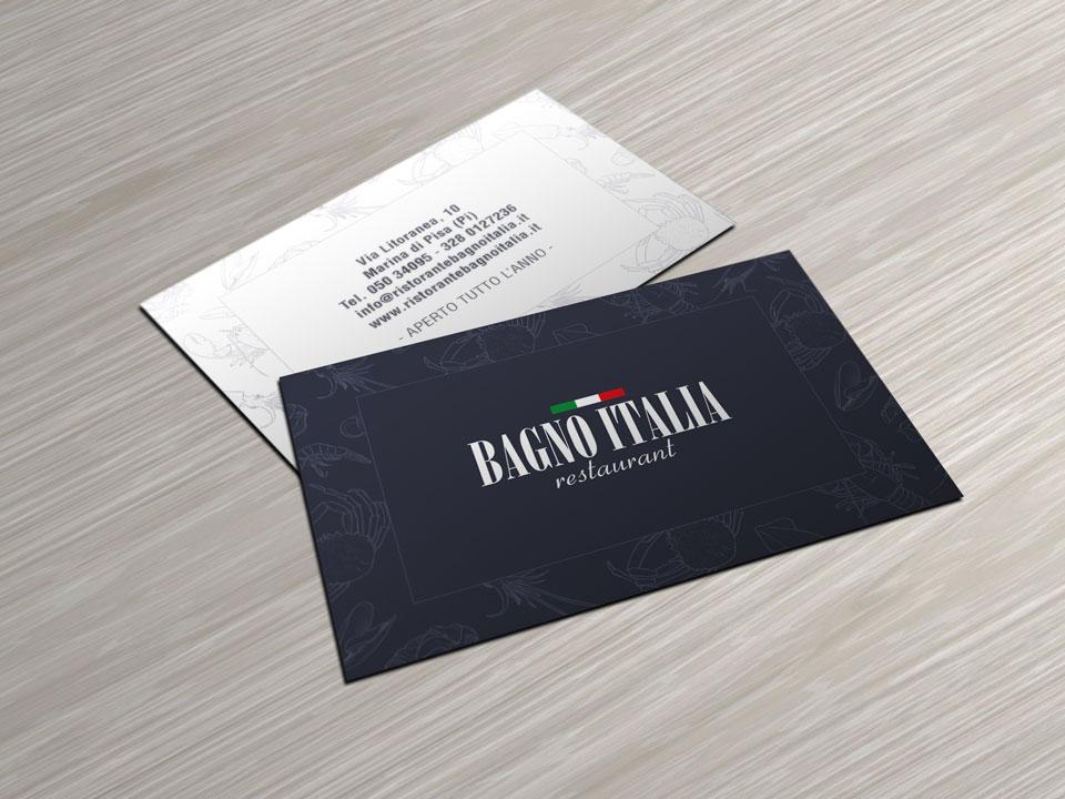 Ristorante Bagno Italia Marina Di Pisa : Bagno italia brochure design zerouno design