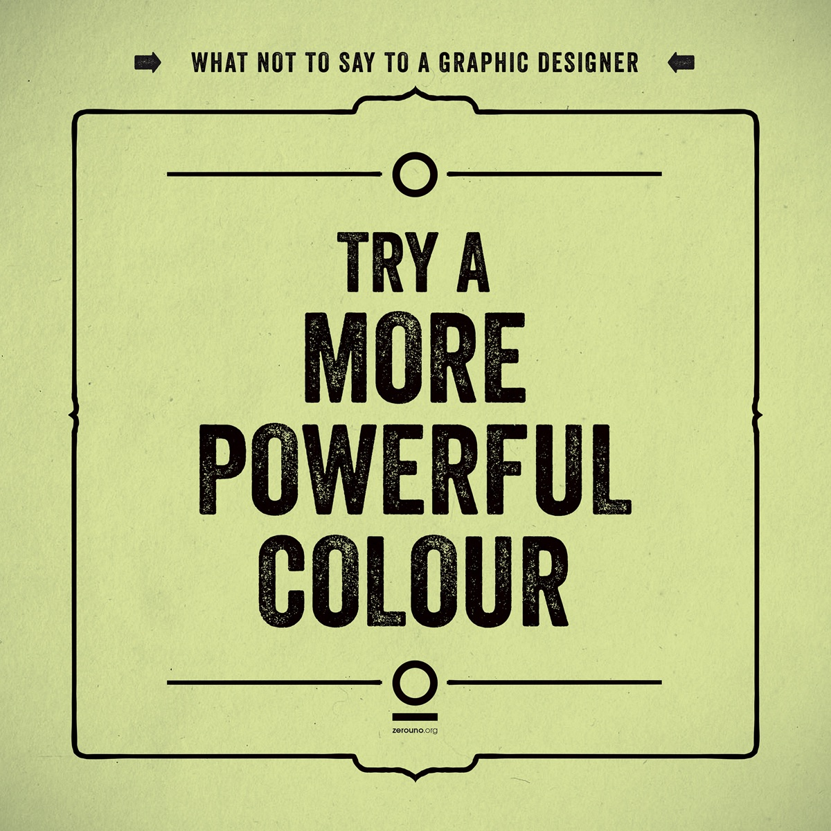 what not to say to a graphic designer10