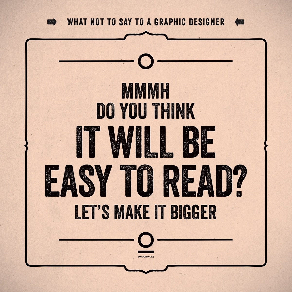 what not to say to a graphic designer7