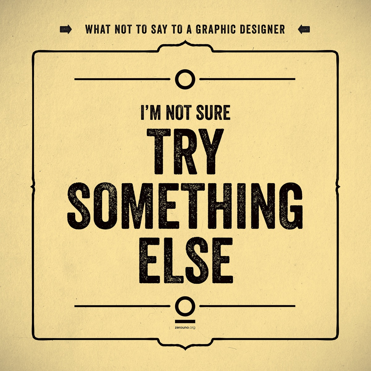 what not to say to a graphic designer9