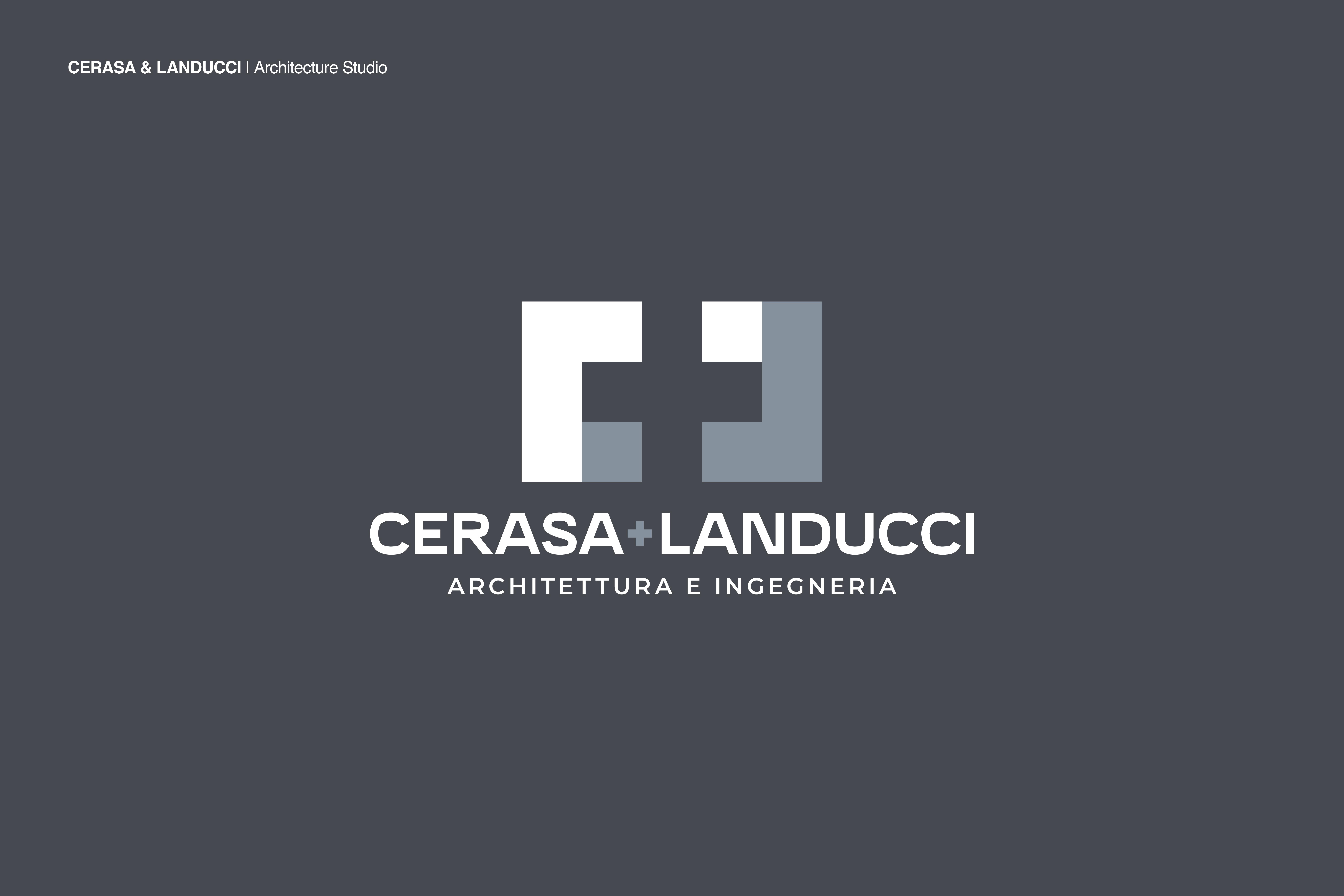 Logo Cerasa e Llanducci by Zerouno Design