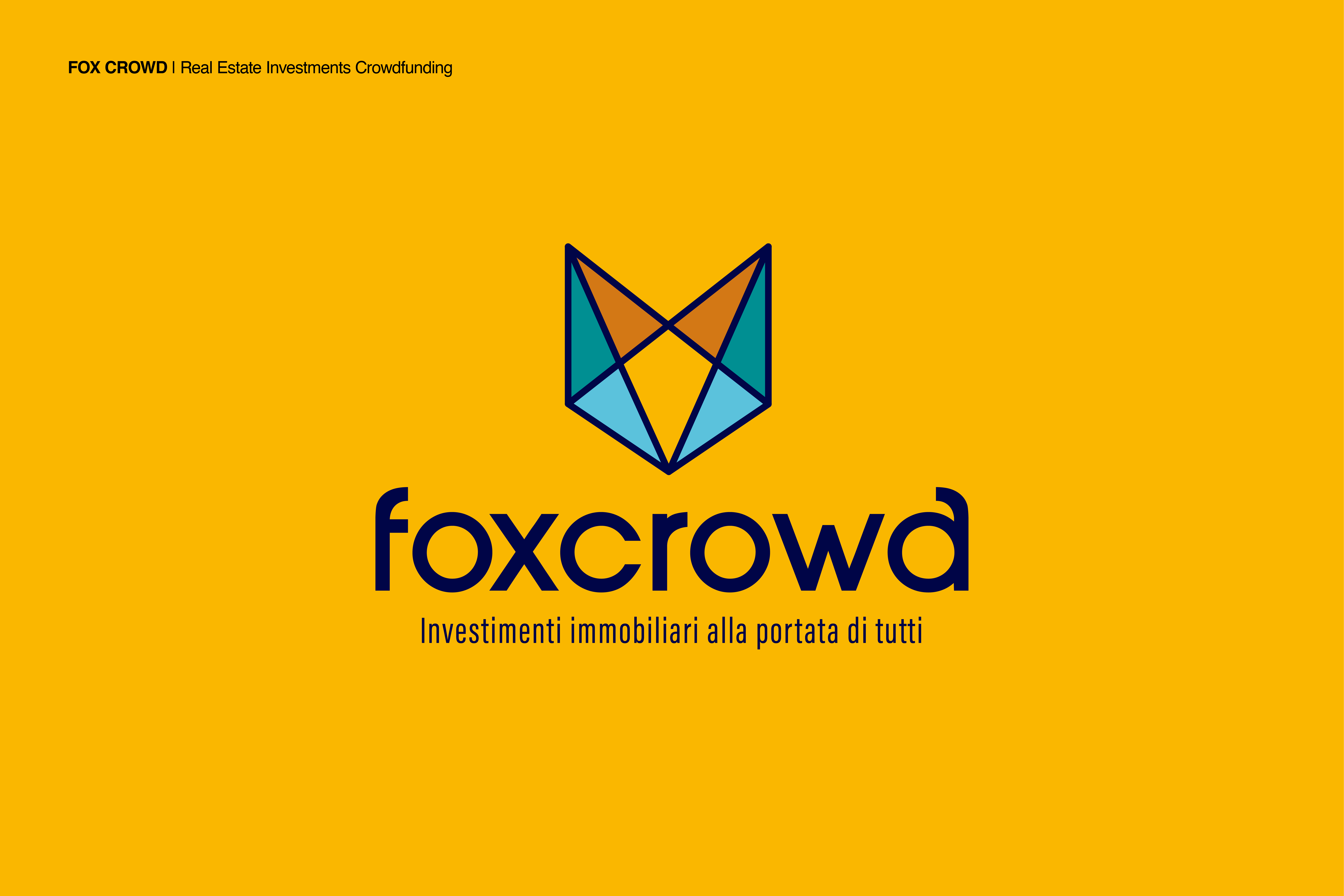 Logo FoxCrowd by Zerouno Design