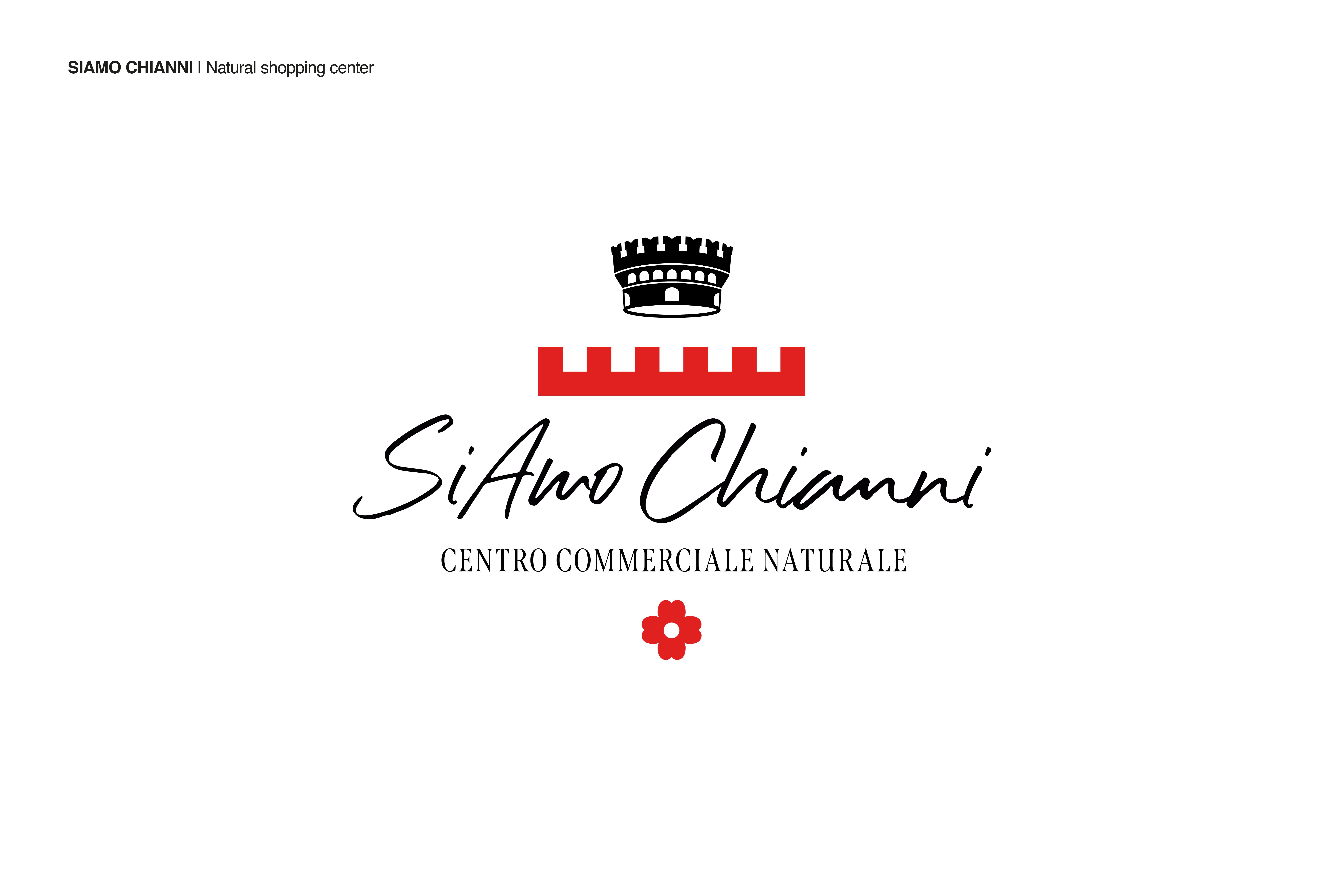 Logo SiAmo Chianni by Zerouno Design